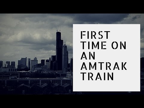 My first time on an Amtrak train | St. Louis to Chicago