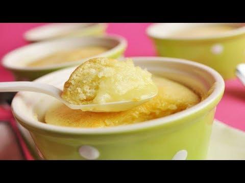 Lemon Sponge Pudding Recipe Demonstration - Joyofbaking.com