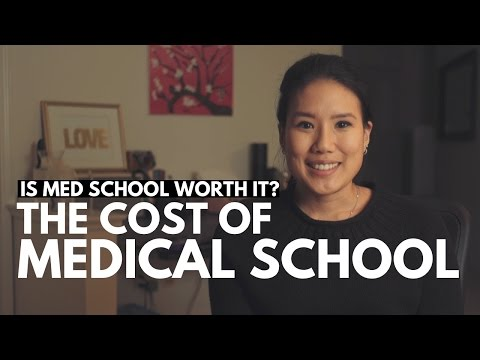 THE COST OF MEDICAL SCHOOL-- Is Med School Worth it?