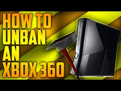 How To UNBAN Your Xbox 360!!!
