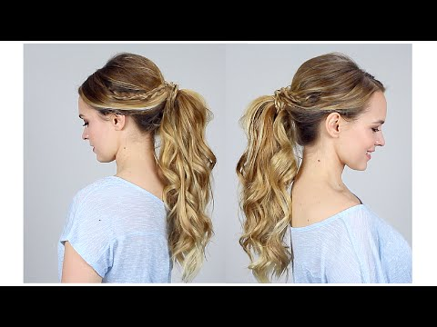 Big Ponytail Tutorial - How to get the volume!