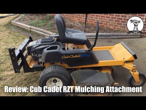 Review: Cub Cadet RZT 50 Mulching Attachment Install