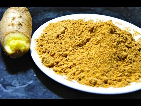 Sonthi podi-Spicy ginger pwdr-Home remedy for indigestion & constipation