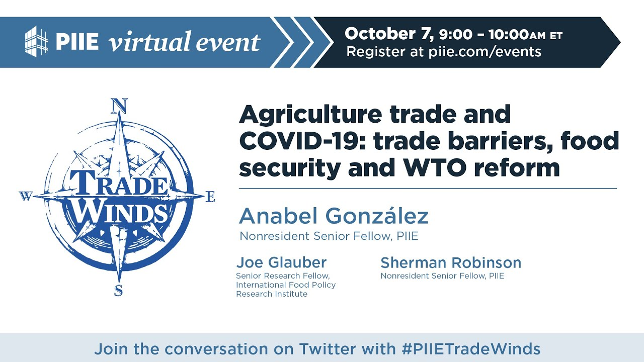 Agriculture trade and COVID-19: trade barriers, food security and WTO reform
