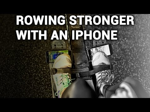 How Your iPhone Can Make You a Stronger Rower
