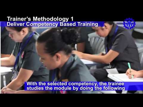 Plan Training Session  Delivery of Competency Based Training CBT
