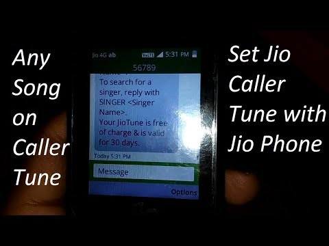 [Hindi-हिन्दी] How Set Jio Caller Tune with Jio Phone Very Easily