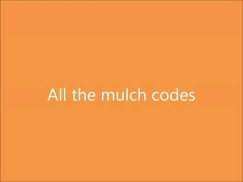Binweevils all of the mulch codes