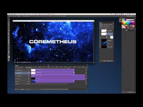 Photoshop CS6 Tutorial | Motion Graphics