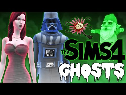 The Sims 4 Update - Ghosts, Death Flower, Ambrosia, & Star Wars!