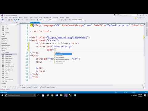 Java Script in ASP using External File