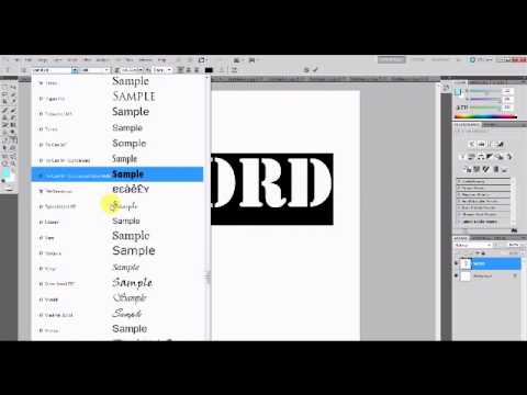 Change Font Preview Size in Photoshop
