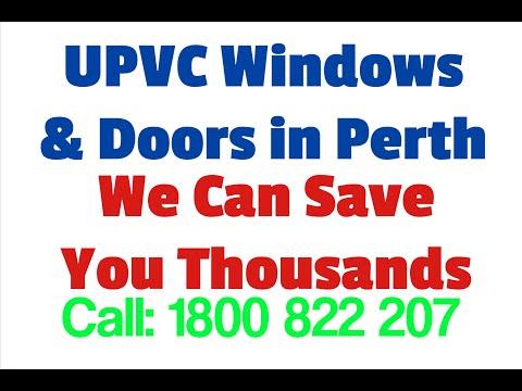 UPVC Windows & Doors Perth | Double Glazing Perth | UPVC Double Glazing Perth
