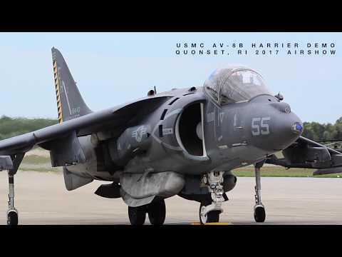 [HD 1080p] AV-8B HARRIER HOVERING - 50 YEARS OF HARRIER