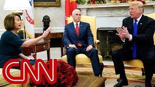 Nancy Pelosi questions Trump's manhood