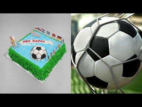 Football Cake Tutorial Easy