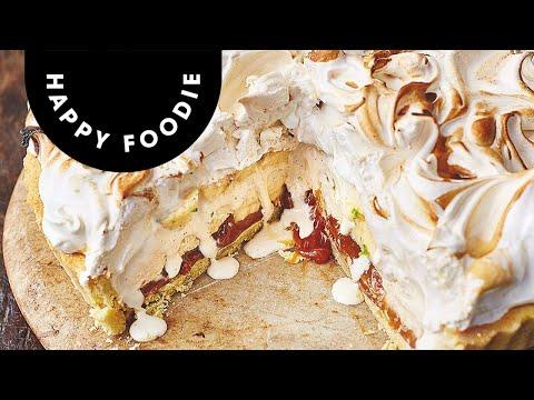 Jamie Oliver's Banoffee Alaska | Jamie Oliver's Christmas Cookbook