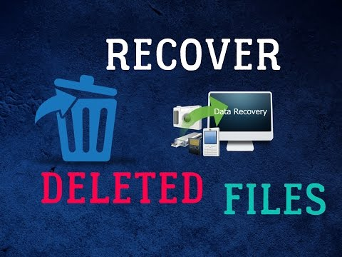 How To: Recover Deleted files in Windows,  SD Card Or Pendrive (2016)[100% Working ]