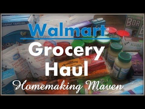 Monthly Walmart Haul! | Family of 6 | Homemaking Maven