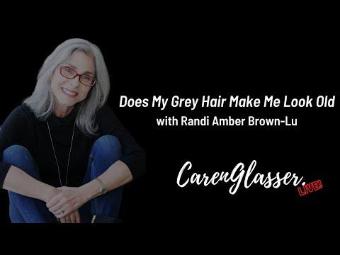 Does My Grey Hair Make Me Look Old?