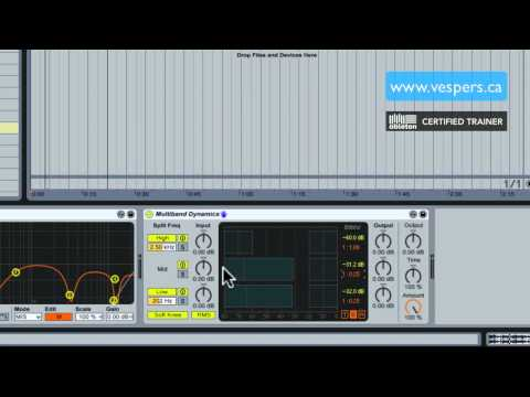 How to make acapellas in Ableton Live HD tutorial pt 2: multiband dynamics