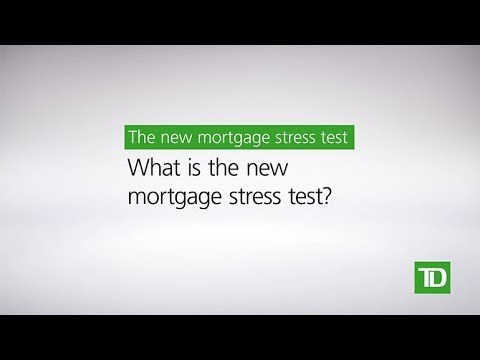 TD – New Mortgage Rules: Stress Test for Home Buyers