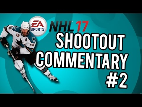 NHL 17 Shootout Commentary #2 |