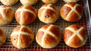 Hot Cross Buns Recipe - How to Make Hot Cross Buns for Easter