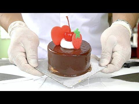Experiment Chocolate Cake Ice Cream Rolls