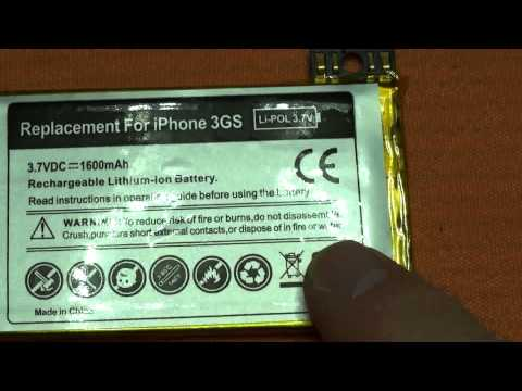 Apple iPhone 3GS Battery Batteria potenziata per iPhone 3GS.flv
