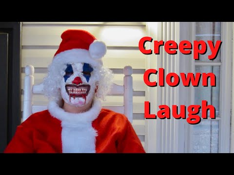 CREEPY  Clown Laugh  ✅