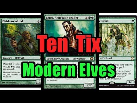 MTG Budget Modern Elves Deck Tech
