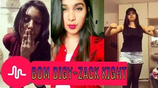 Bom Digy-Zack Knight Song Musical.lys|The Best Indian Musical.ly Completion