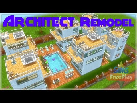 Sims Freeplay - Architect Home Remodel
