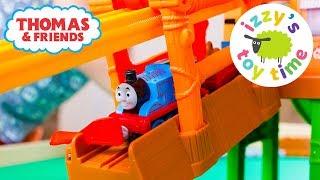 Thomas and Friends | Thomas Adventures Misty Island Zipline with Thomas Train! Fun Toy Trains 4 Kids