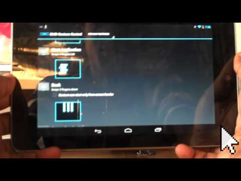 GMD Gesture Control Review - Nexus 7 Very Useful