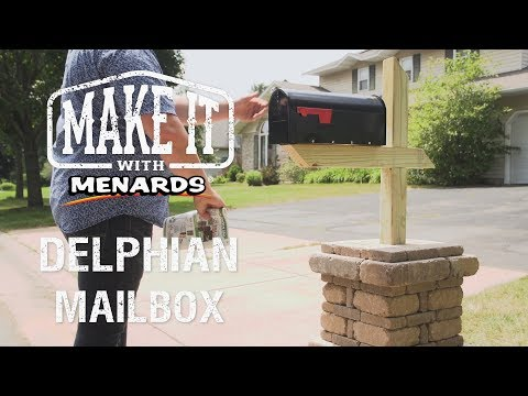 Delphian Mailbox No-Cut Block Project - Make It With Menards