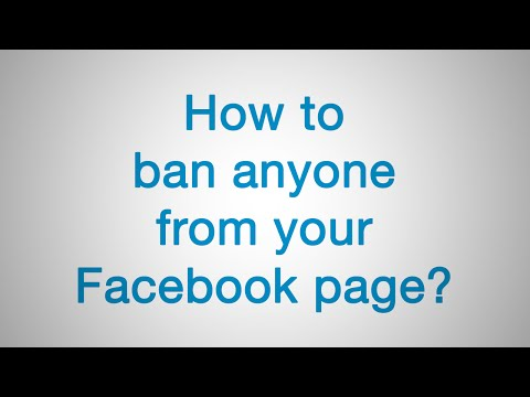How to ban anyone from your Facebook page | Juno_okyo