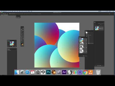 Radial gradients and Photoshop channels (Intermediate) tutorial | Graphicxtras