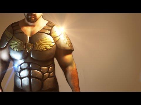 Superhero Armor: How to make the breasplate