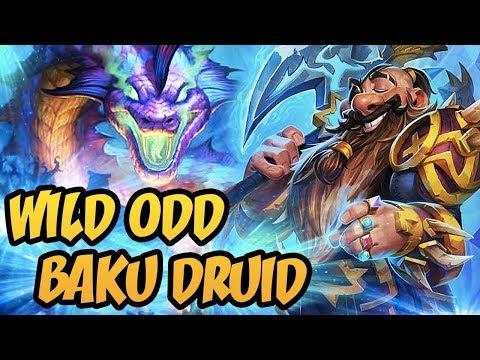Hearthstone: Wild Odd Baku Druid