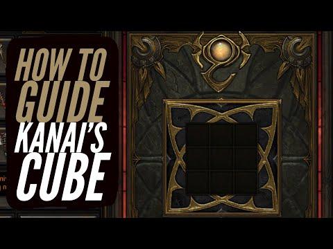 Diablo 3 - How To Get & Use Kanai's Cube [Secret Recipes in Description]