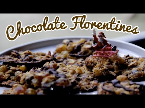 CRUMBS AT CHRISTMAS | Chocolate Florentines