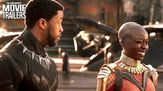 Black Panther Tchalla Returns From Civil War In A New Clip For Marvel Superhero Movie