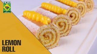 Delightful Puff Pastry lemon rolls   Evening With Shireen   Masala TV Show   Shireen Anwar