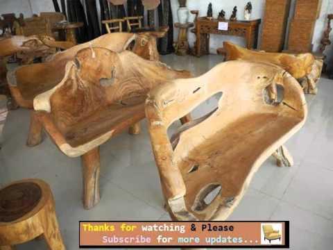 Garden Furniture Ideas   Outdoor Furniture Rustic Style Romance