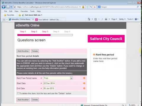 Steps 4&5 claim Housing Benefit & Council Tax Benefit