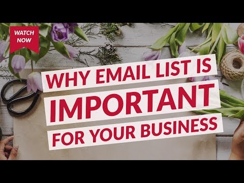 Why email list is important for your business