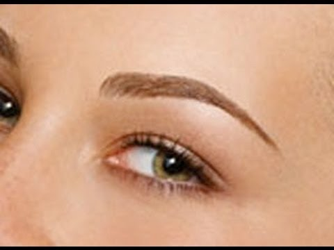 Re-Grow Your Eyebrows From Being Over Plucked, Tweezed, Or Waxed!