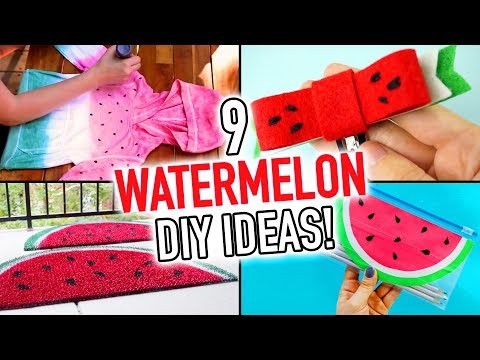 9 Cute WATERMELON DIY Ideas for the Summer - HGTV Handmade